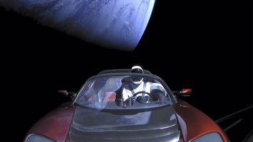 The Tesla Roadster : a flying car ?