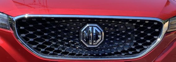 TEST DU MG ZS ev